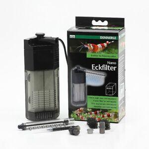 Filter Garnelenaquarium 10-40 Liter Offensichtlicher Effekt Haustierbedarf Dennerle Nano Eckfilter Für Mini Aquarien