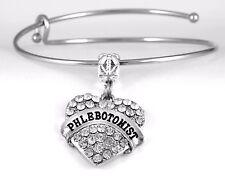 Phlebotomist Bracelet Phlobotomist Gift Nurse Bangle Medical Tech Present