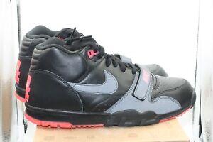 Island Carmes Rojo Trainer Nike Negro Prm Mid Darelle Air 11 Sz Revis Nrg 1 TRwq8O