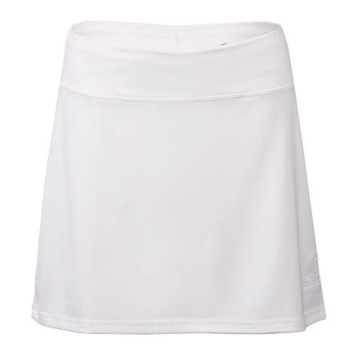 Women/'s White Tennis Sophisticated Speed Skort Skirt w// Attached Shorts