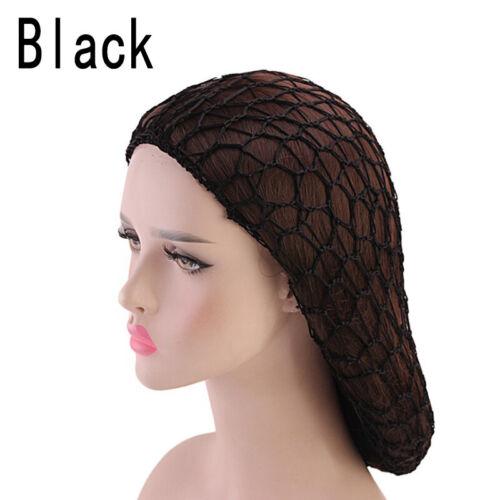 Women Fashion Hollow Out Net Knit Crochet Cap Hairnet Snood Sleeping Hair Cover