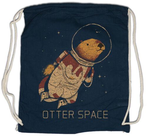Otter Space Turnbeutel Love Addiction Astronaut Fun Planet Weltraum Liebe