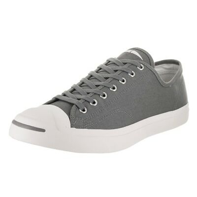 Converse Jack Purcell Canvas OX Cool Grey Low Top Sneaker 161635C