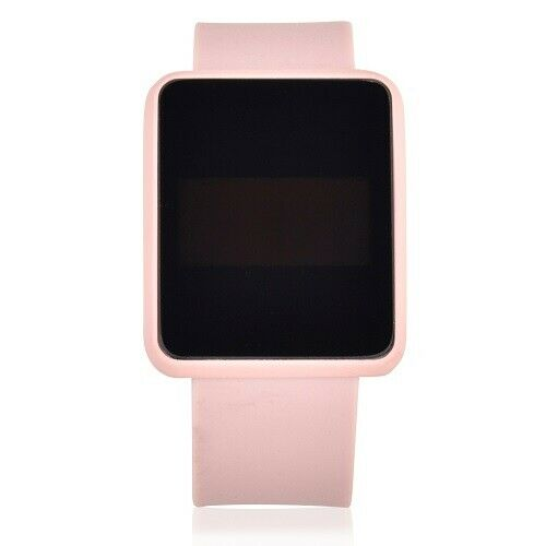 Time And Tru 4133wml Square Watch Pink