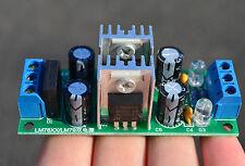 LM7812+LM7912 Dual 12V Regulator Rectifier Bridge ±12V Power Supply Module