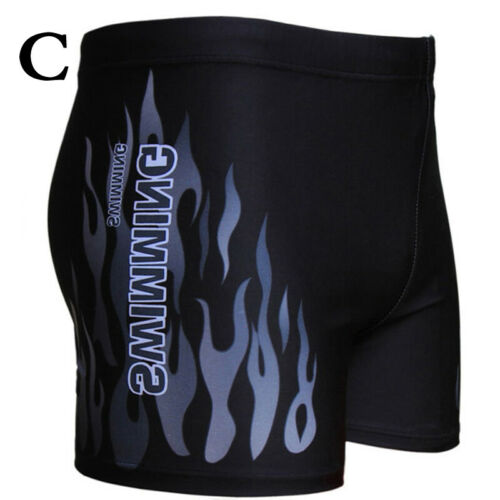 Men Swimsuit Quick Dry Board Shorts Swimwear Trunks Summer Elastic Hot Casual