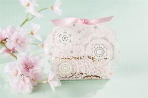 50PCS-Happy-Wedding-Party-Candy-Box-Laser-Cut-Favors-Gift-Paper-Bag-Box-Ribbon