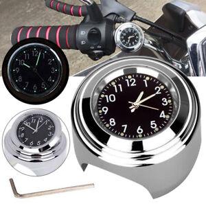 Argente-Universelle-Etanche-Support-de-Guidon-Montre-Horloge-Moto-Pratique-FR