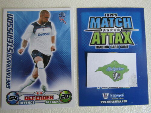 Topps Match Attax 2008 2009 Tarjetas De Fútbol Tcg equipos a un Arsenal ect variantes M
