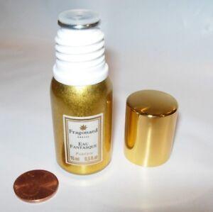 Womens New Fragonard Eau Fantasque Perfume Parfum 15 Ml Splash