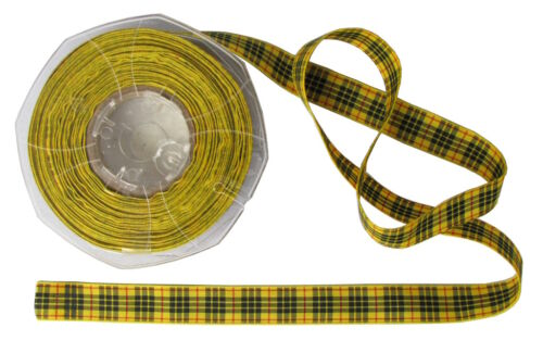 Macleod tartan ruban-différentes largeurs couper et longueurs 20m bobines