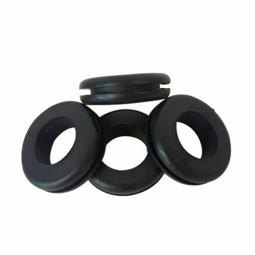 180X Assorted Rubber Grommet Set Open Closed Blind Blanking Grommets Wiring