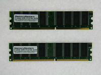 1gb (2x512mb) Memory For Dell Dimension 2400c 2400n 4550