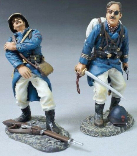 THOMAS GUNN FRENCH FOREIGN LEGION FFL004B OFFICER WITH SWORD PITH HAT MIB