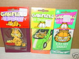 3 Vintage Odorizador De Ambientes Garfield Gato Desenho