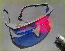 Blue Safety Glasses Goggles For 600nm-750nm Orange Red Laser pointer