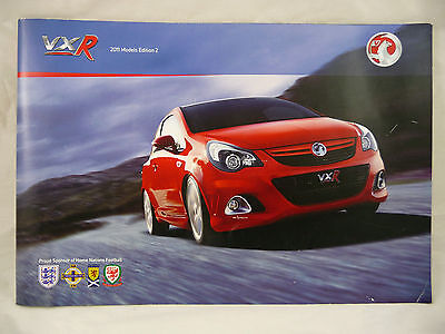 Vauxhall VXR Models A5 Brochure 2011 Edition 2 New