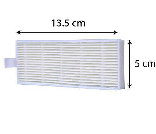 12packs HEPA Filter Compatible Ilife Model A6 A4 A4s Robotic Vacuum Cleaner