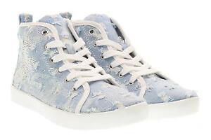 buy online d2a8e 5f08d Dettagli su Lelli Kelly scarpe bambina sneakers alta LK4278 ROXY BLU JEANS  P17