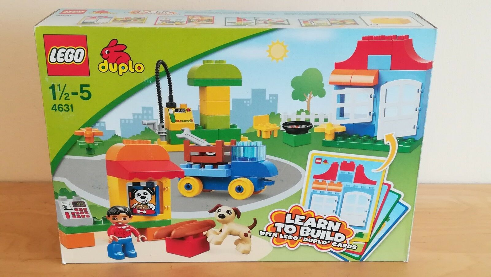 LEGO Duplo 4631 MY FIRST BUILD - Brand new & sealed box with minor shelfwear