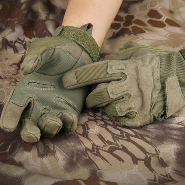 Men's Military Tactical Full-Finger Gloves Black Hawk Outdoor Working Gloves