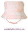 Janie Jack NWT Pink SIGNATURE LAYETTE PATCHWORK HEART BUCKET DRESS HAT CAP 3 6 M