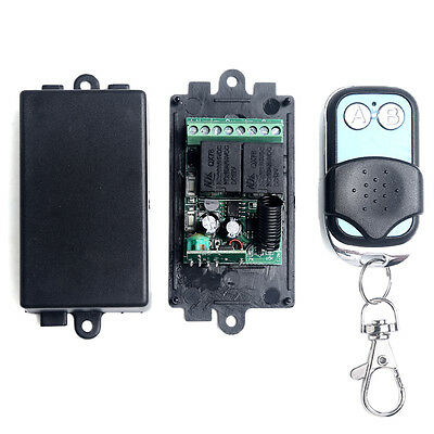 DC 12V 2CH Channel Wireless RF Remote Control Switch Transmitter+ Receiver