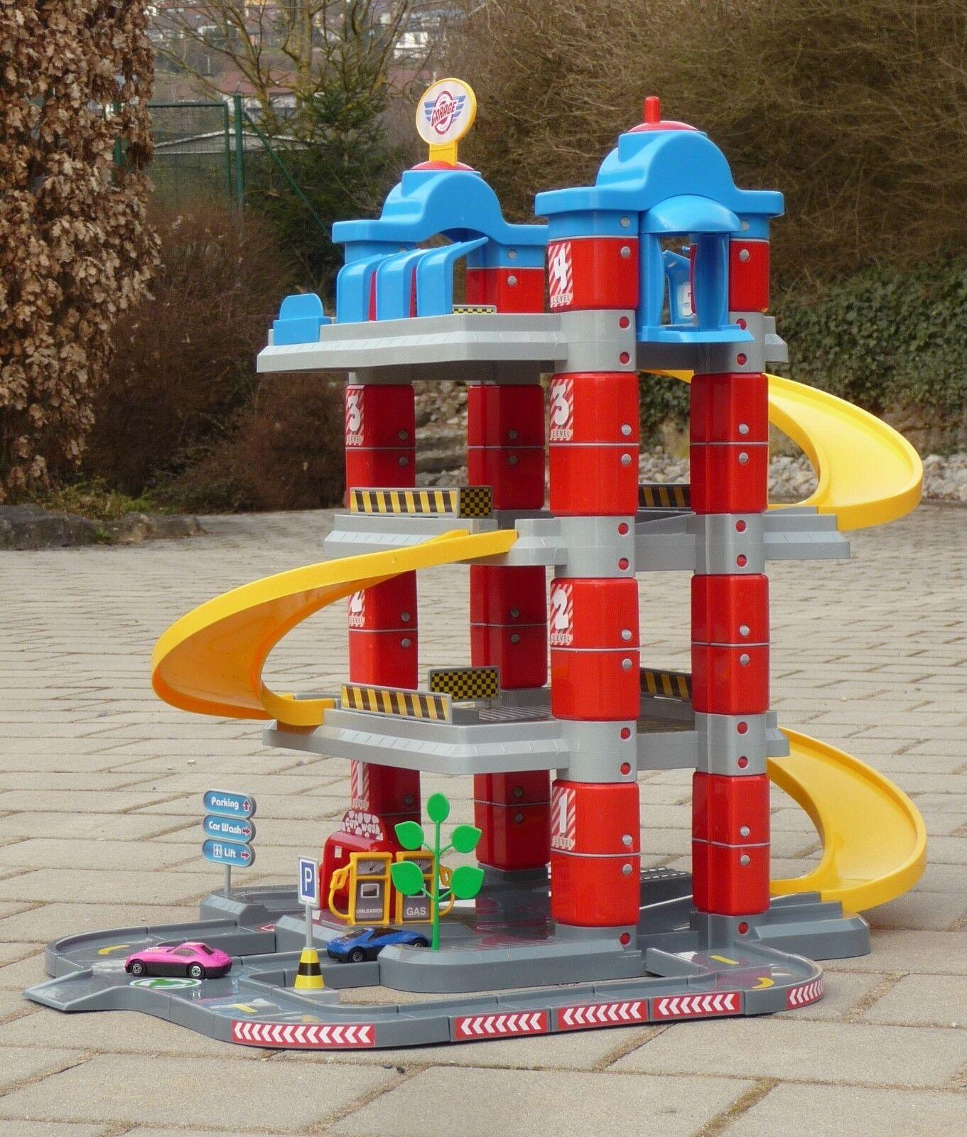 Kinder Spielzeug Garage Parkhaus Auto XL TOWER mit 4 ETAGEN in TOP QUALITÄT 5159