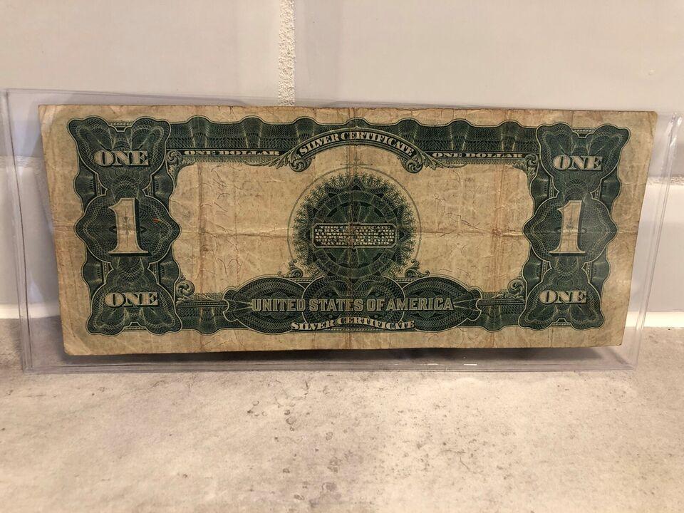 Amerika, sedler, 1899