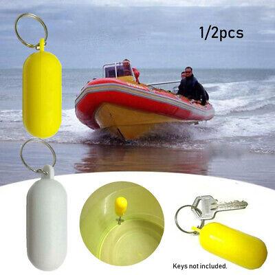 5 PACK Kayak Floating Keyring Fender Buoyant Key Ring Marine Sailing Boat Float Canal Keychain