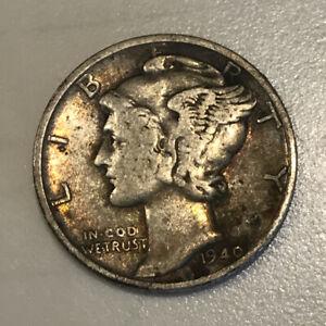 1940 D Wheat Penny Cent Denver Mint ~ Great Album Filler Coin ~