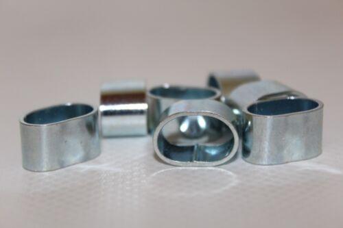 4 unidades para würgeklemmen cuerda de goma planificar cuerda 8mm