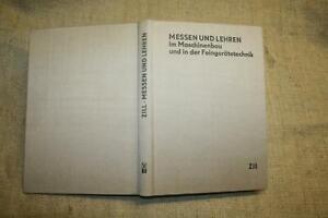 Fachbuch-Messtechnik-Lehren-Maschinenbau-Feinmechanik-DDR-1972