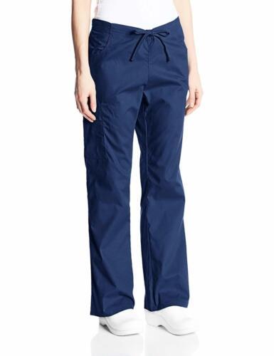 Dickies Women/'s Signature Mid Rise Drawstring Scrubs Cargo Pant