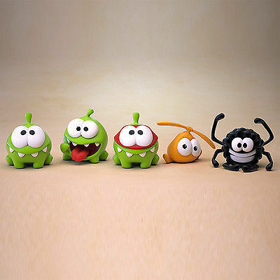 Prosto Toys PVC Cut the Rope figure Om Nom toy toy toy 5pcs collectible Original 241p 9c93cd