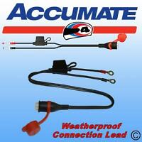 OPTIMATE ACCUMATE TM71WEATHERPROOF  PERMANENT BATTERY CHARGER CONNECTION LEAD