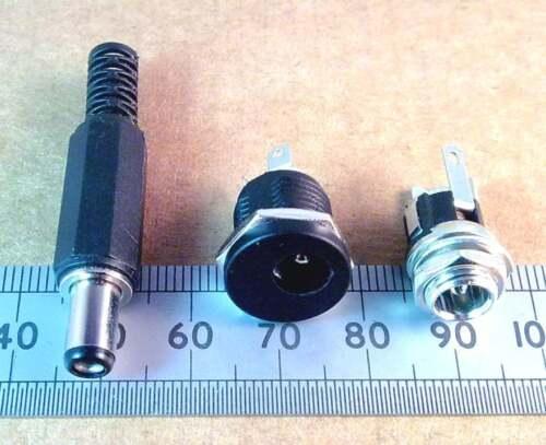 Cargador Conector Dc Plug de alimentación Socket Varios Tipos Circular D.C