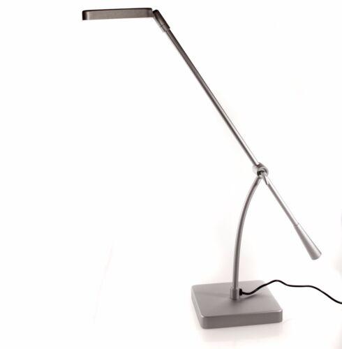 TB1336//37 Design SMD-LED Schreibtischleuchte,Metall Silber Matt,Tischleuchte A++