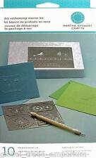 NEW Martha Stewart DRY EMBOSSING KIT M43-20001 -  CLEARANCE SALE!