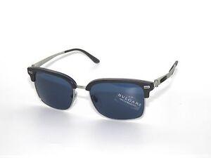 4e8d821a9c Bvlgari BV7026 5357 80 Sand Grey Blue Horn Bulgari Sunglasses
