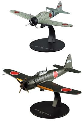 Sammlung von 7 Flugzeuge RAF US Navy WW2 1:72 DeAgostini diecast Militärfahrzeug