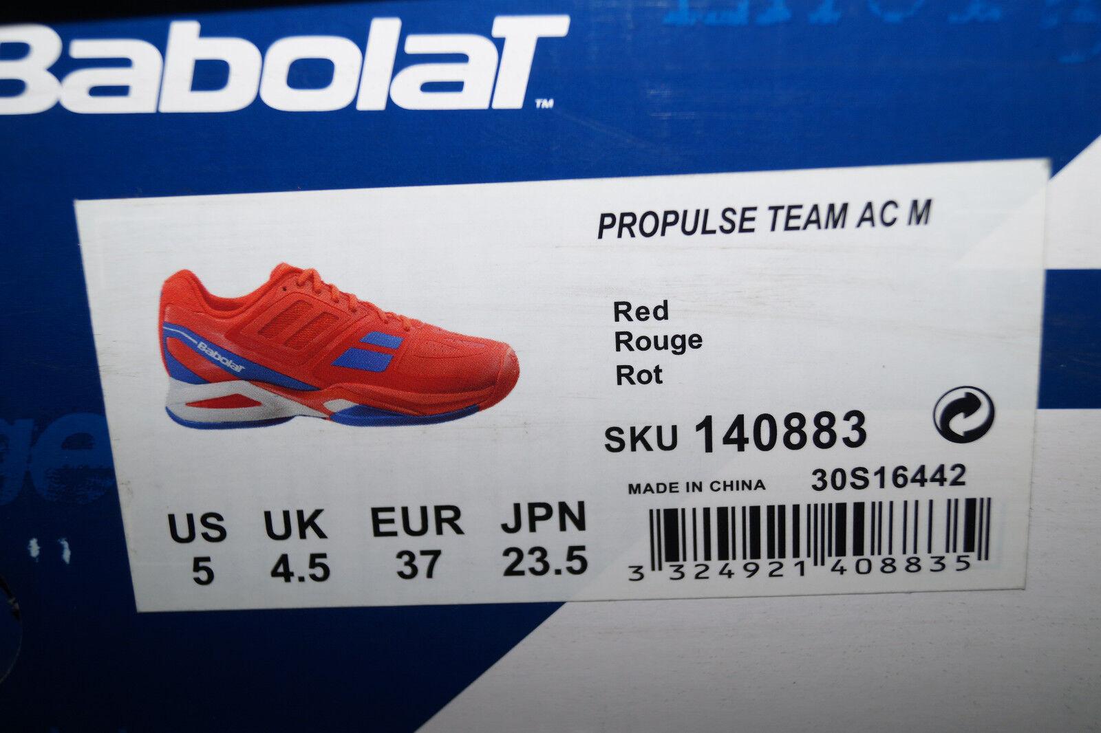 BABOLAT PROPULSE TEAM AC M rot rot rot TennisSchuhe EU 37 UK 4.5 30S16442 Herren  | Louis, ausführlich  | eine große Vielfalt  | Roman  75fd10