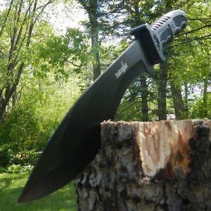 15-034-SURVIVAL-HUNTING-Full-Tang-Kukri-FIXED-BLADE-KNIFE-Machete-Axe-w-SHEATH