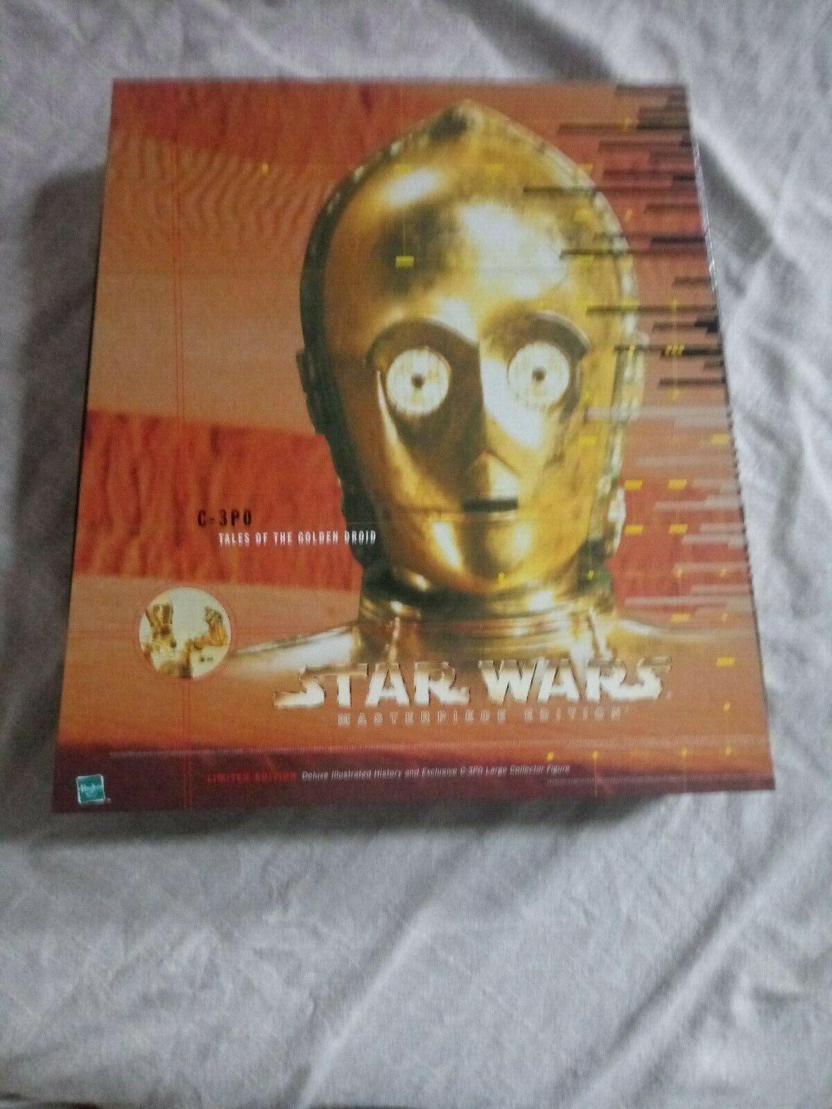 1999 estrella guerras MASTERPIECE edizione  C3PO TALES OF THE oroEN DROID