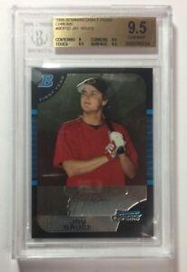 2005-Jay-Bruce-Bowman-Topps-Chrome-Baseball-Card-Reds-9-5-Gem-SKU-13003