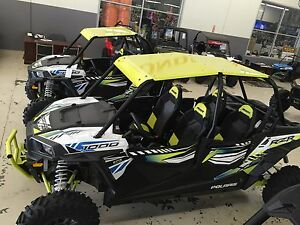Image Is Loading 2017 18 POLARIS ROOF LIME SQUEEZE RZR XP