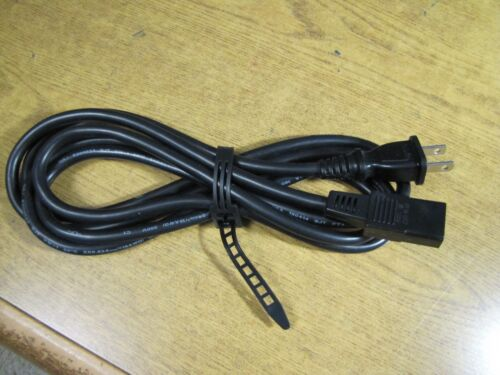 "REVOX Replacement Power Cord STUDER TANDBERG w//2 Prong /""AC POWER/"" Socket 8 ft"