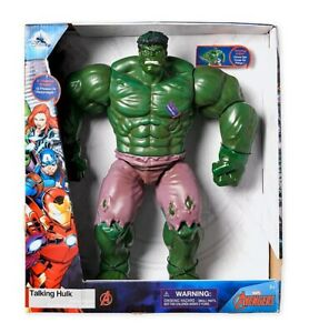 Avengers-Talking-HULK-12-Inch-Action-Figure-Toy-Disney-Store-MARVEL-Collectors