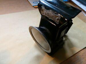 "Vintage H Miller (Birmingham) ""LUMO"" oil lamp. Near mint condn. 1920's"