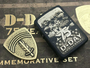 ZIPPO-Limited-D-Day-75th-Anniversary-Feuerzeug-limitiert-10000-Stk-60004704